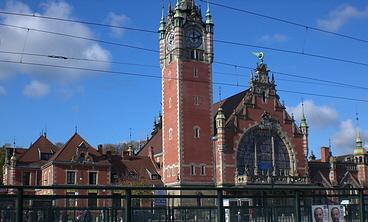Danziger Hauptbahnhof