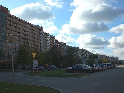 Plattenbau Gdansk