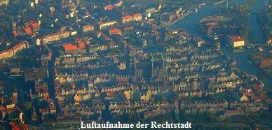 Rechtstadt Luftaufnahme