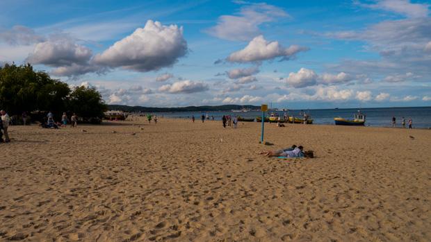 Strand bei Danzig