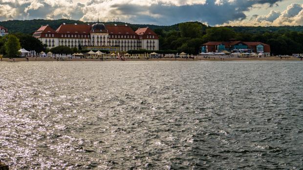 Strand in Sopot